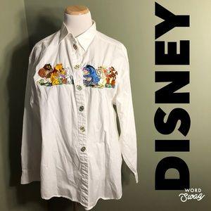 XXL Disney buttondown shirt. Winnie the Pooh.